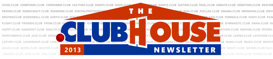 Clubhouse Logo background